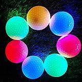4Hi-Q USGA LED Golf Bälle für Night Training Luxus Golf Praxis Kugeln (Pink/Blau/Rot/Grün)