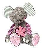 sigikid, Mädchen und Jungen, Stofftier Elefant XXL, Patchwork Sweety, Grau/Bunt, 38748