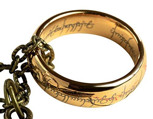 Anillo cadena El señor anillos, caja