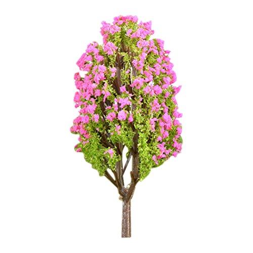 Vosarea Modelo en Miniatura Árboles Jardín de Hadas Paisaje Planta Lagerstroemia Árbol...