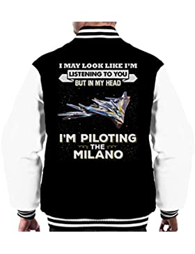 I May Look Like Milano Guardians Of The Galaxy Men's Varsity Jacket