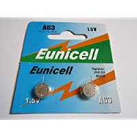 Shipping with Tracking Eunicell AG3Button Cell Batteries–Sg3LR41/LR192/Set of 2lr384/lr392