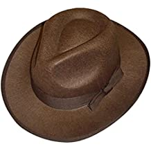 Islander Fashions Adultos Indiana Jones Explorer Sombrero Hombre Safari  Explorer Accesorio de disfraces Talla nica 43dce7a13db