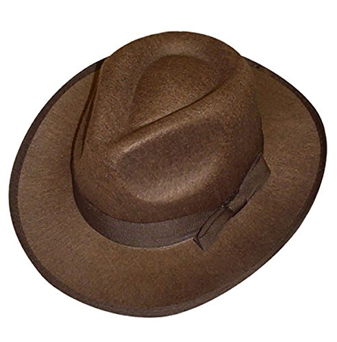 Islander Fashions Erwachsene Indiana Jones Explorer Hut Herren Safari Explorer Kost�m Zubeh�r Einheitsgr��e