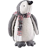 WeRChristmas Standing Christmas Penguin Figurine, Multi-Colour, 38cm