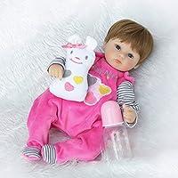 Nicery Bambola, migliore rinato Creatore di Bambola!Questa è una bambola arte perfetta progettata da un famoso artista. Bambola rinascimentale sveglia e realistica.È fatta di vinile silicone morbido di simulazione di alta qualità. Comodo tocc...
