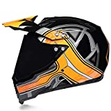 Mdsfe Casco per moto fuoristrada fresco ed elegante SML XL con fodera rimovibile e viti zincate - b4a X XL
