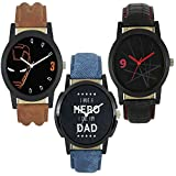 RIO Creation Analogue Combo Of 3 Boy's & Men's Watch - Lm_004_006_008