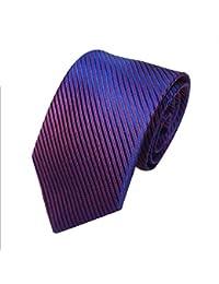 SALLYDREAM Corbata de Seda para Hombre Casual Corbata Para Fiesta Para los Negocios