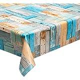 Hule lavable (140 cm de ancho, venta por metro), diseño de madera