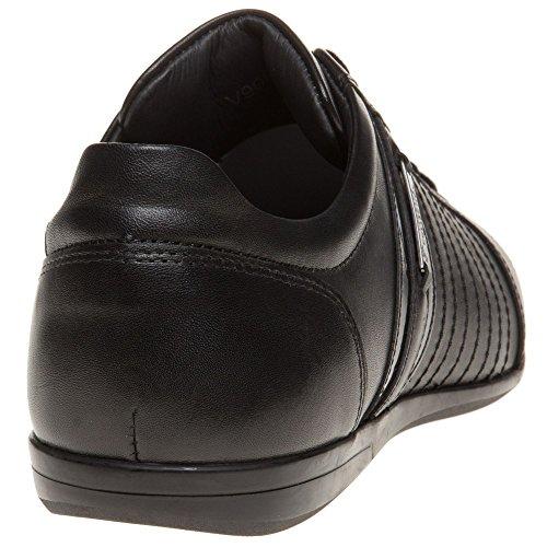 Versace Collection Formal Homme Baskets Mode Noir Schwarz