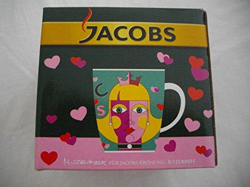 """RITZENHOFF Kaffeebecher für Jacobs Krönung 3. Edition Motiv """"Prinzessin"""""""