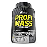 Olimp Profi Mass | Weight Gainer mit Kohlenhydrate, Whey Eiweißmischung Pulver, Vitaminen, Taurin...