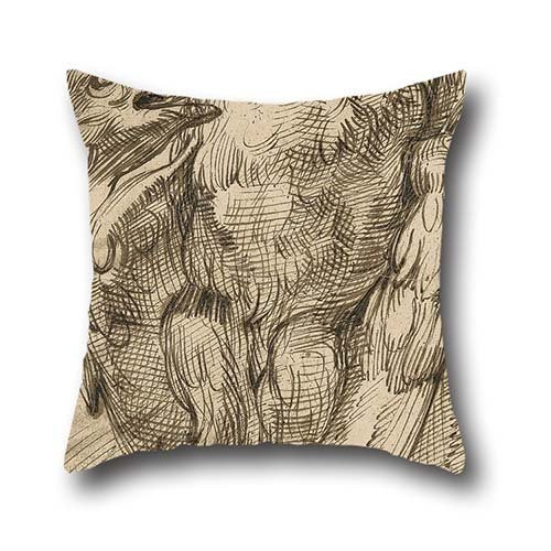 16-x-16-inch-40-by-40-cm-oil-painting-bartolomeo-passerotti-study-of-an-eagle-throw-pillow-case-doub