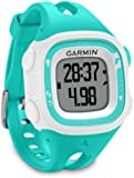Garmin Forerunner 15 GPS Running Watch and Activity Tracker, Small - Teal/White