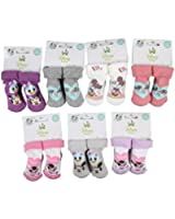 Lot de 3 paires de chaussettes Minnie - bébé fille - modèle aléatoire
