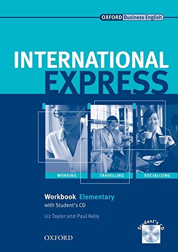 International Express: Elementary: Workbook + Student CD: Workbook with Student CD Elementary level by Liz Taylor (2007-10-18)