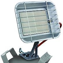 Einhell Gas estufa GS 4600 P (capacidad de calefacción de hasta 4,6 kW, con piezo-encendido, con regulador de presión, manguera, regulador, para los bombonas)
