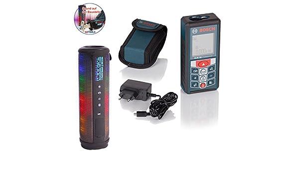 Laser Entfernungsmesser Mit Usb Anschluss : Sound auf der baustelle mit bosch laser entfernungsmesser glm