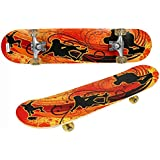 Fantasy India Skate Board 17x5-inch, 5 to 10 Years (Assorted Design)