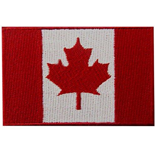 Bandera Canadá Hoja arce Canadiense Emblema