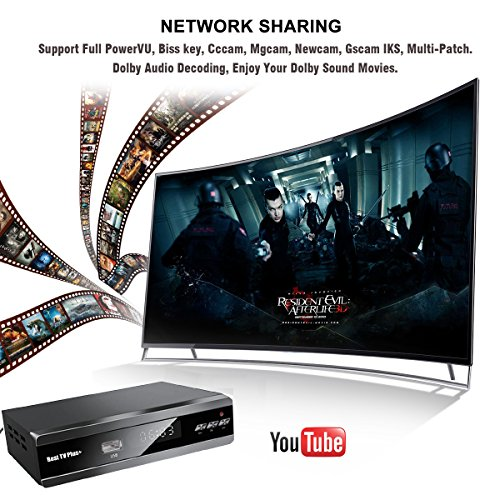 Best TV Plus  IPS2 BestHD IKS M3U IPTV 1080p Ethernet port HD Digital HDMI M3 DVB-S2 Satellite receiver skybox v8