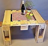 Tisch aus Palette vintage Couchtisch industrial Holz Shabby Chic Palettentisch Wohnzimmer Holztisch antik Palettenmöbel Wohnzimmer
