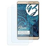 Bruni Schutzfolie kompatibel mit Huawei MediaPad X2 Folie, glasklare Bildschirmschutzfolie (2X)