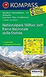Nationalpark Stilfserjoch /Parco Nazionale dello Stelvio: Wanderkarte mit Aktiv Guide, Radrouten und Skitouren. GPS-genau. Dt. /Ital. 1:50000 (KOMPASS-Wanderkarten, Band 72) -