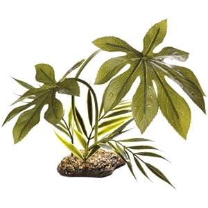 Underworld Komodo Canopy Plant Reptile Habitat Decoration Woodland 42cm-Jungle 42cm
