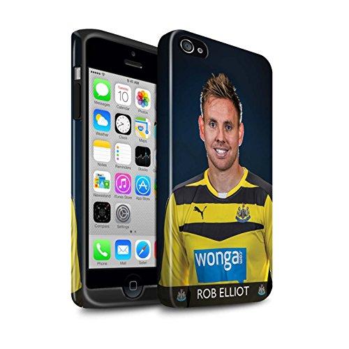 Offiziell Newcastle United FC Hülle / Glanz Harten Stoßfest Case für Apple iPhone 4/4S / Pack 25pcs Muster / NUFC Fussballspieler 15/16 Kollektion Elliot