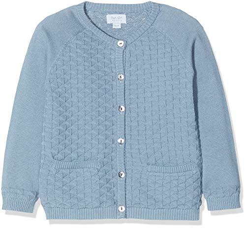Noa Noa miniature Baby-Jungen Strickjacke Boy Light Knit Blau (Blue Shadow 810) 68 (Herstellergröße: 6M)