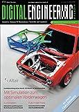 Digital Engineering Magazin 7 2017 Funktionsintegration durch 3D-Druck im Karosseriebau Zeitschrift Magazin Einzelheft Konstrukteure Entwickler Ingenieure