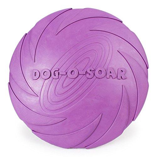 LUCK DAY Interaktives Kauspielzeug für Hunde, Kauspielzeug, widerstandsfähig, weich, Gummi, für Hunde, Haustier-Trainingsprodukte, Hund, Fliegenscheiben, 1 Stück