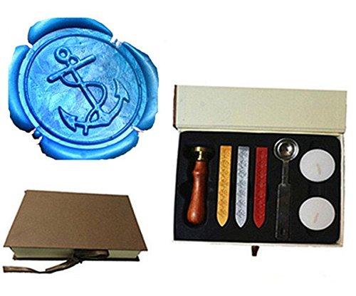Wachstempel-Set, Logo, für Hochzeit/Einladung Box Kit