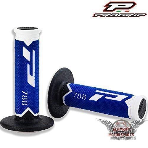 Progrip 788 blu manopole manubrio maniglie in gomma mx motocross enduro fuoristrada dh cross