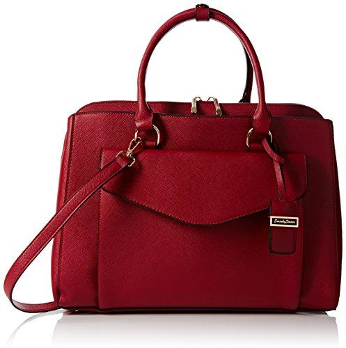 Swankyswans Sara Envelope Work, Damen Schultertaschen, Rot - Red (Burgundy) - Größe: (Zara City Bag)