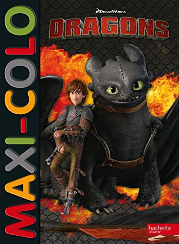 Dreamworks - Dragons - Maxi colo