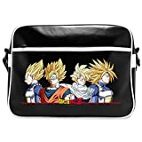 DRAGON BALL - Sac Besace DBZ Super Saiyans Vinyle