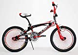 IBK Bici Bicicletta 20' BMX Freestyle STERZO 360° Rossa