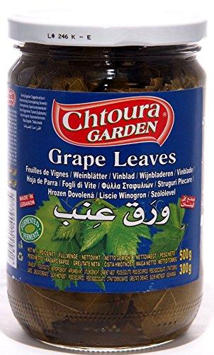 Weinblätter (Chtoura Garden- Eingelegte Weinblätter im Glas (500g Netto))