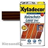 Xyladecor® Holzschutz-Lasur 2 in 1 Palisander 0,75 l - Wetterschutz | farbbeständig | Dünnschicht-Lasur