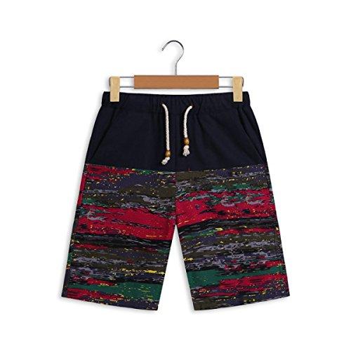 Vêtements Hommes Quick Dry Grands Chantiers Plage Détendu Décontracté Rafting Impression Swim Trunk Tailles Et Couleurs Assorties I