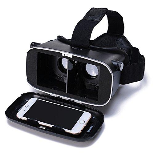 Andoer® CST-09 Version 3DVRBrille Virtuelle Realität DIY 3D VR Video Film Spiel Gläser Kopfmontager mit Stirnband für iPhone Samsung / Alle 4.0 ~ 6.0