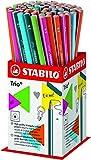 STABILO Trio - Pot de 72 crayons graphite triangulaires 2B - Coloris assortis