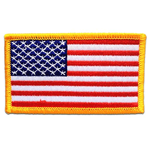Parches - USA ARMY bandera - blanco - 7