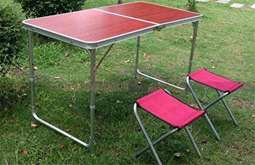 MONEYY Outdoor Klappstühle und Tische und Stühle einrichten ihre Stände_Faltpaket Übersicht Schulung office Ausstellung Industrie 120*60* . 55/62/70 cm hoch