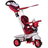 SmarTrike 4 in 1 Dream with Touch Steering - Red/White