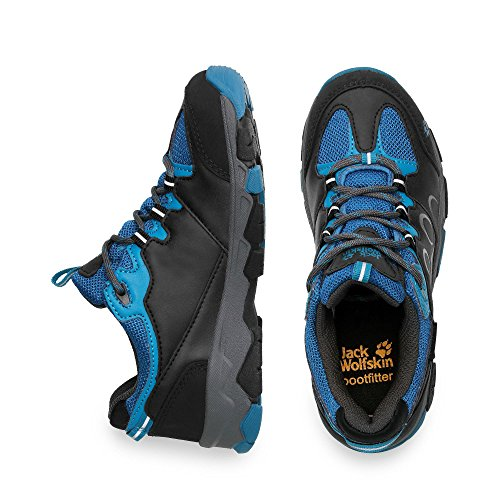 Jack Wolfskin Kinder MTN Attack 2 Texapore Low Grau (Moroccan Blue)