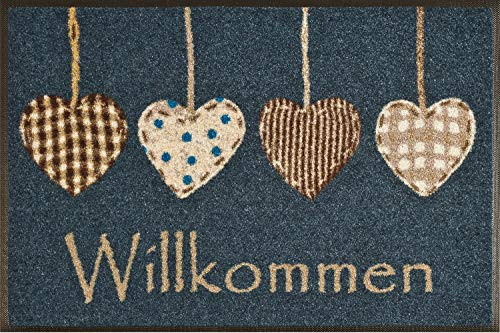 wash + dry 052173 Fußmatte Cottage Hearts 50 x 75 cm -